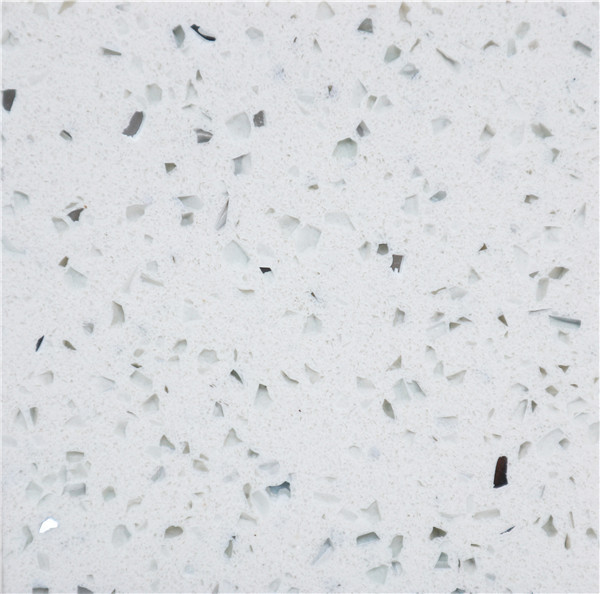 White Sparkle Quartz Stone D940