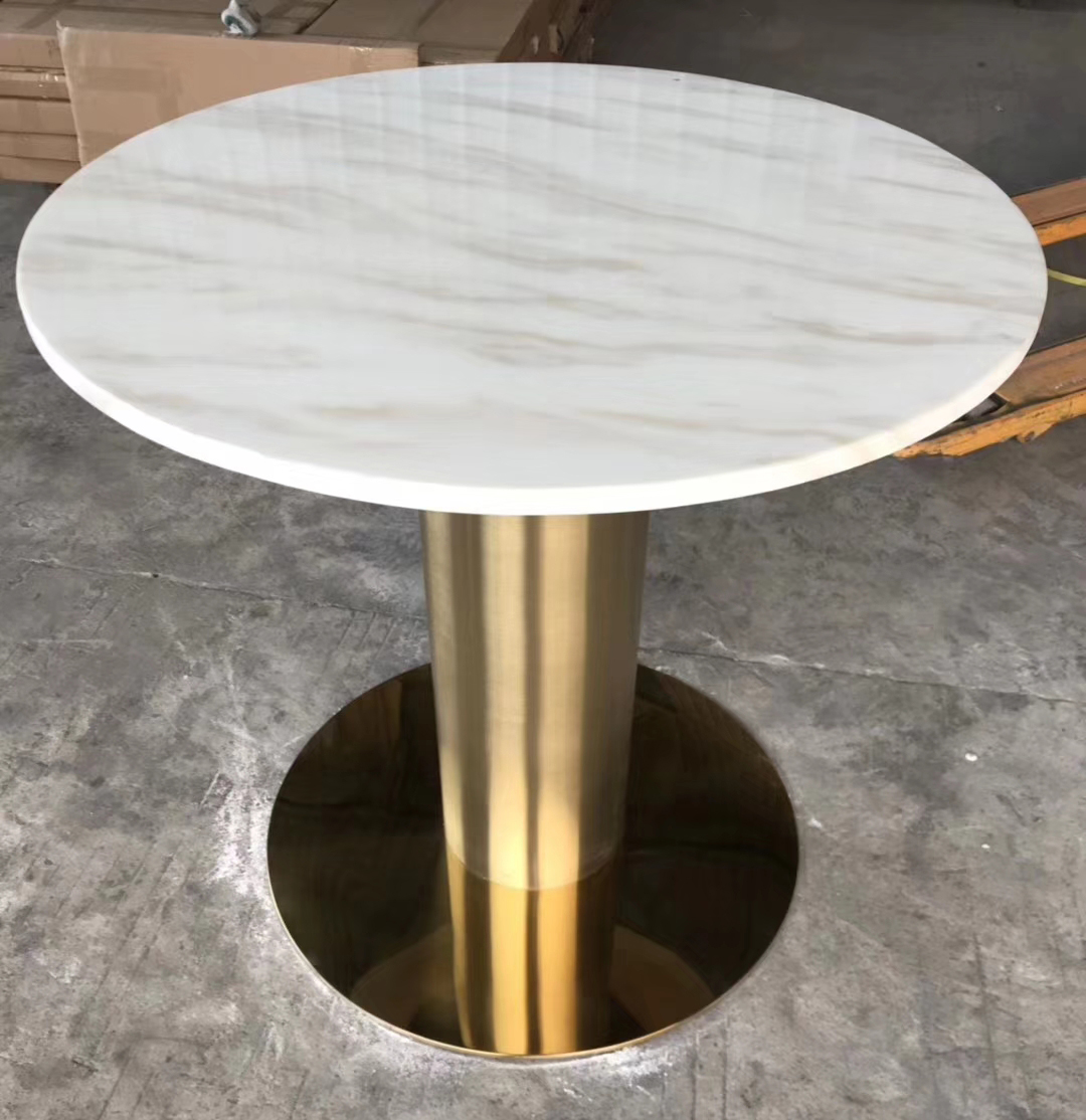 Round Table top by Marble Guangxi White