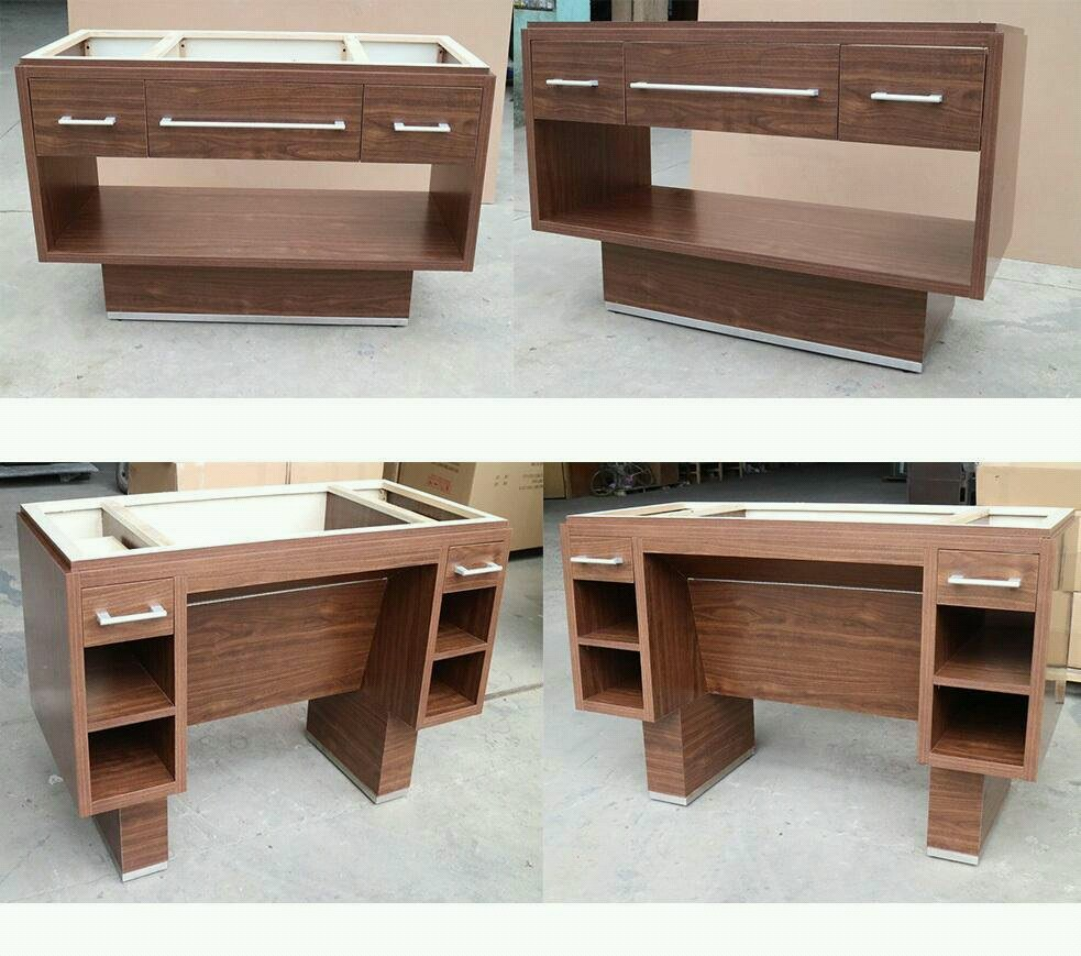 Custom wood cabinet for bath typical and ADA vanities in Home 2 Suites