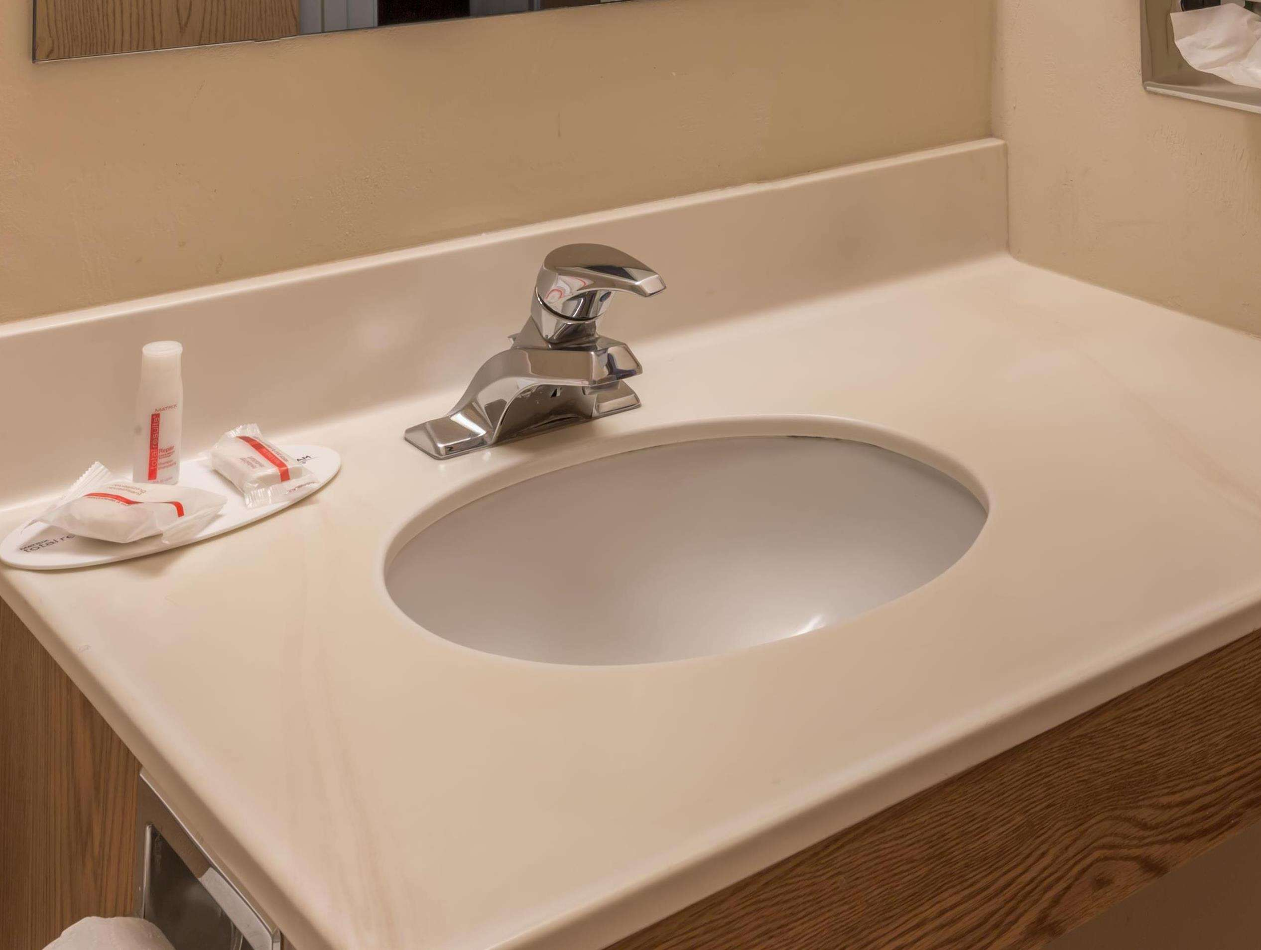 Artificial Stone Bathroom Vanity top with Integrated Backsplash and Basin