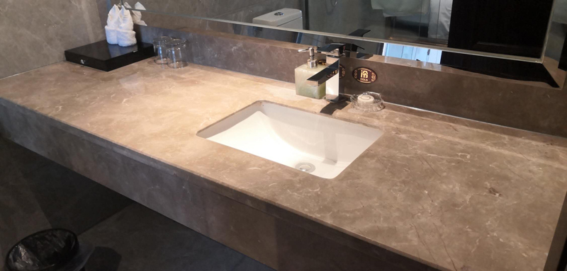 Bathroom Marble Vanities for Hospitality Industry