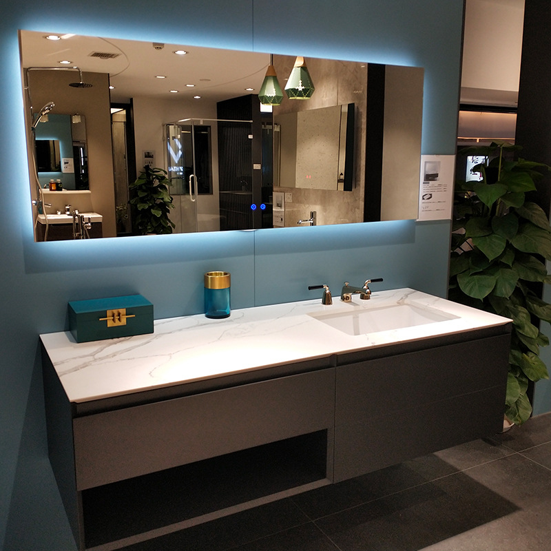Commercial Bath Vanities with Sintered Stone top