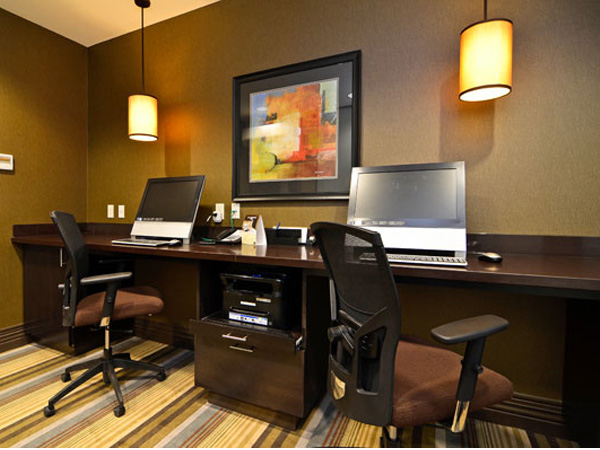 File Cabinet and Countertop for Hotel Business Center