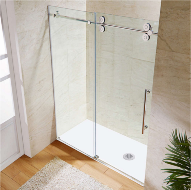 Frameless Sliding Glass Shower Door Design ES200