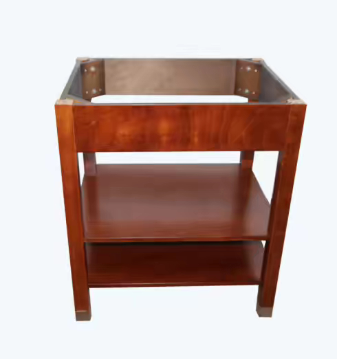 Furniture Sytle Bathroom Wooden Vanity Base