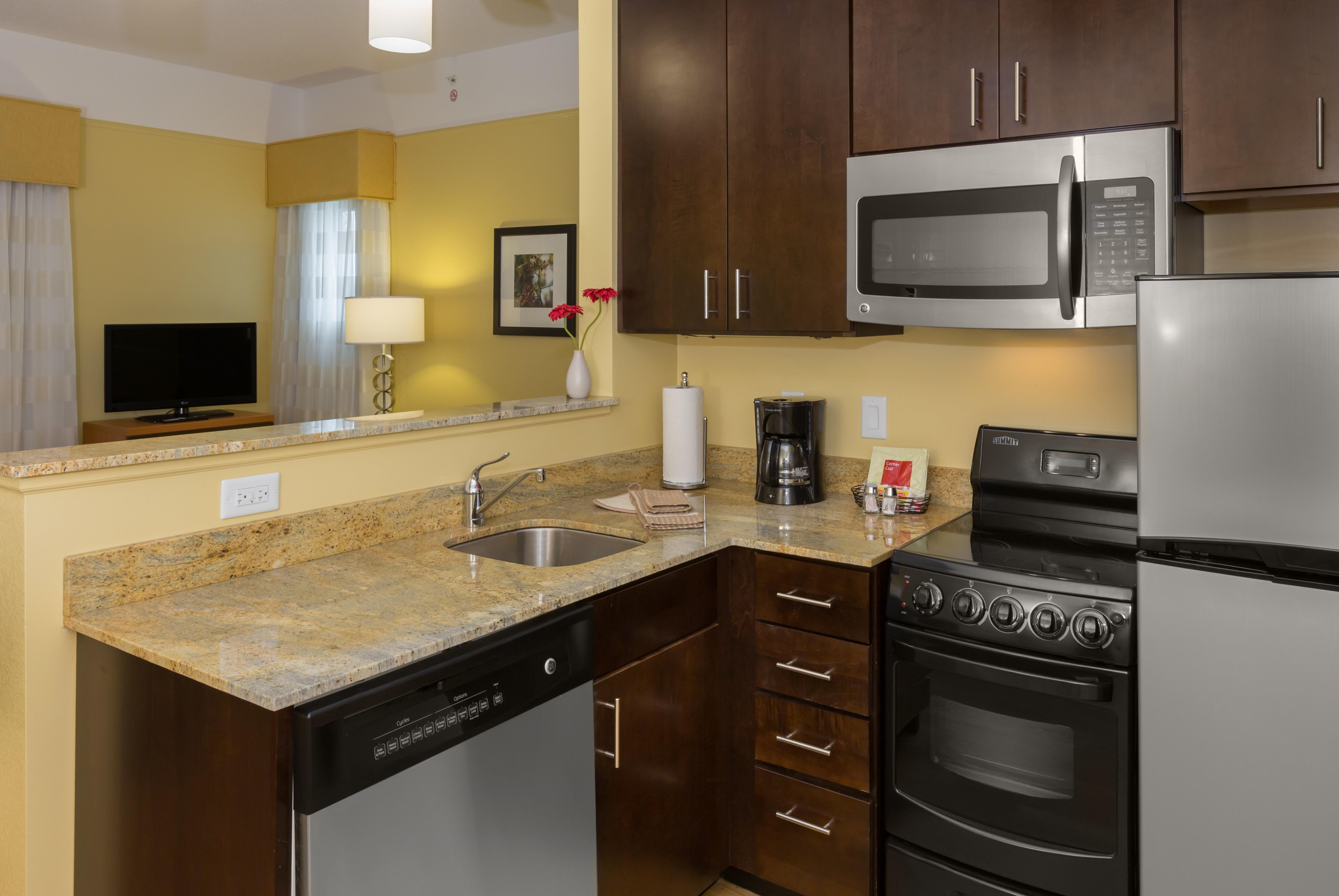 Granite Kashmir Gold L Shape Kitchen Counter tops
