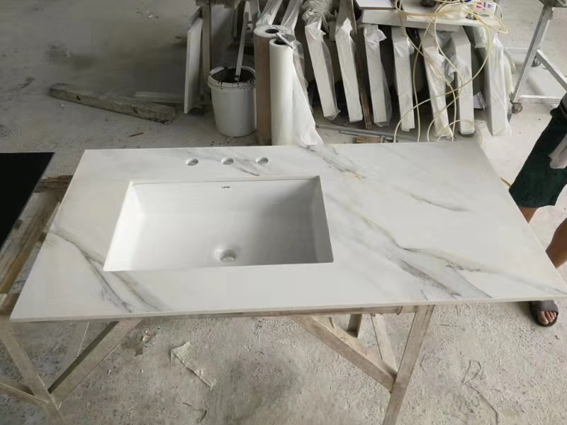 Quartz and Marble Bathroom Vanities for Hospitality and Multifamily Projects