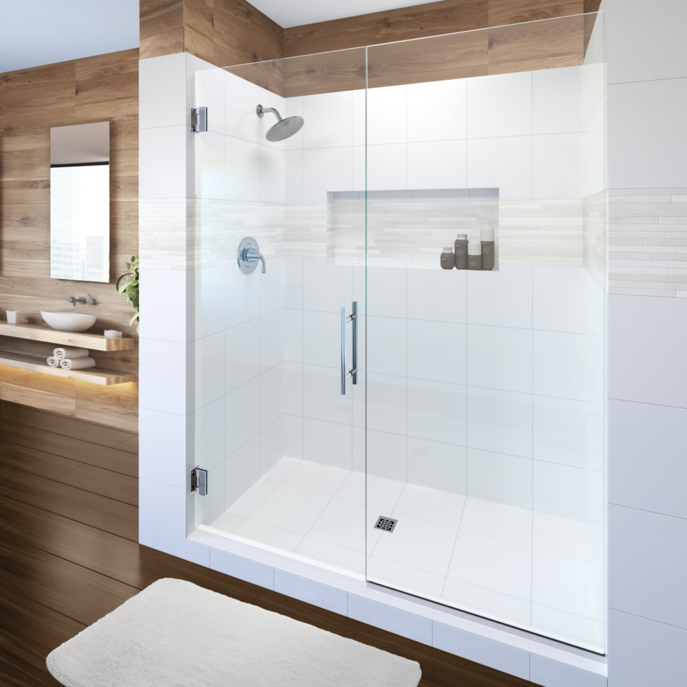 White Porcelain Tiles for Shower Surrounding