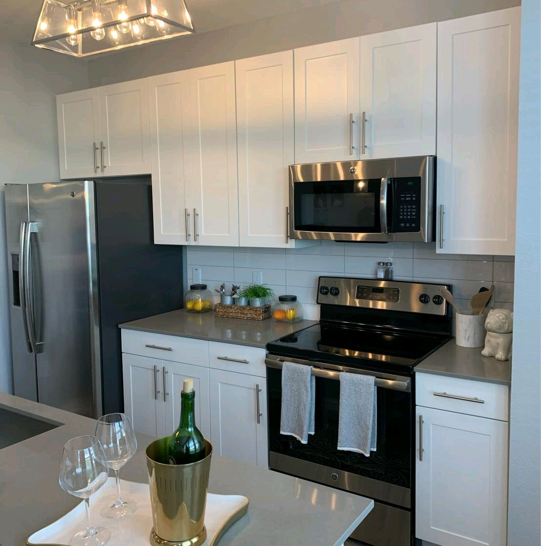 Kitchen cabinetry and countertop for Multifamily Project
